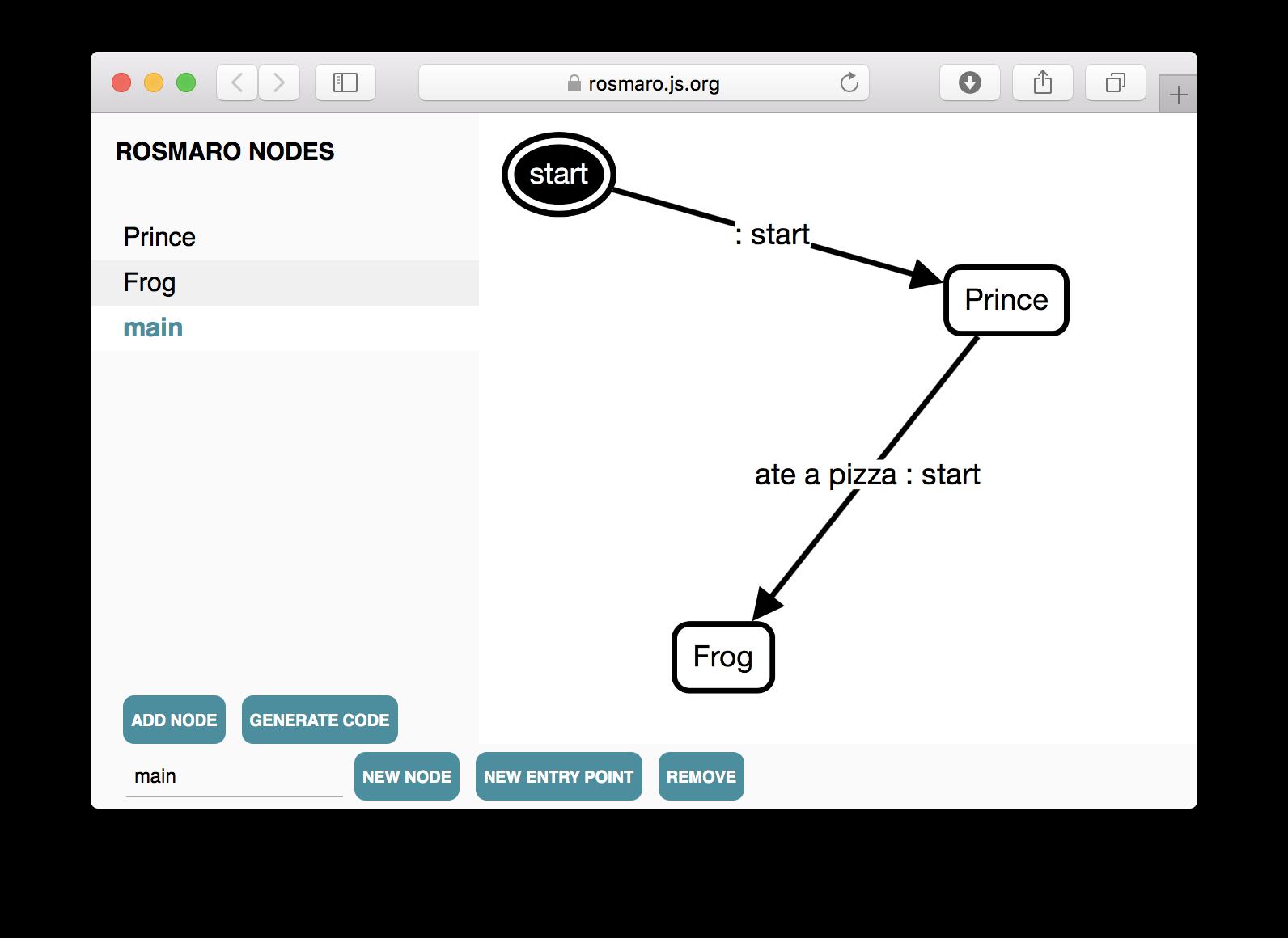 Rosmaro - visual automata-based programming in functional